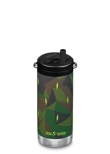 Klean Kanteen TKWide 12 oz Insulated Bottle with Twist Cap Electric Camo