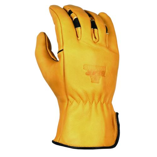 Bear Knuckles Double Wedge Regular Duty Cowhide Driver Work Glove