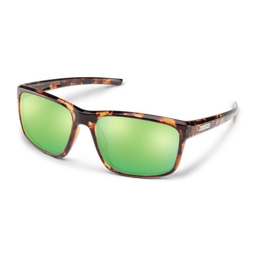 Suncloud Optics Respek Sunglasses Tortoise with Polarized Green Lenses
