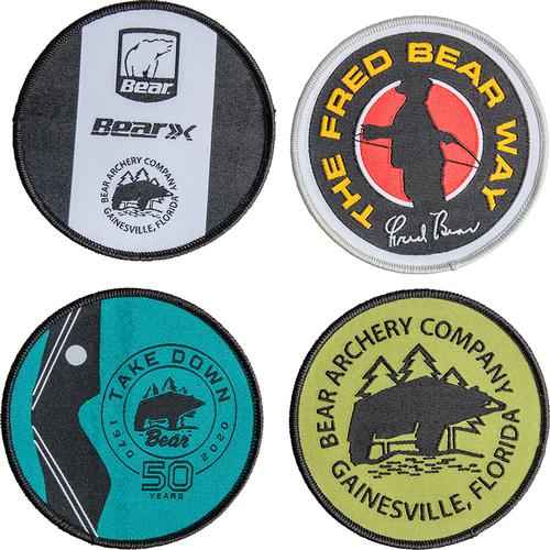 Bear Archery Set of Four Patches