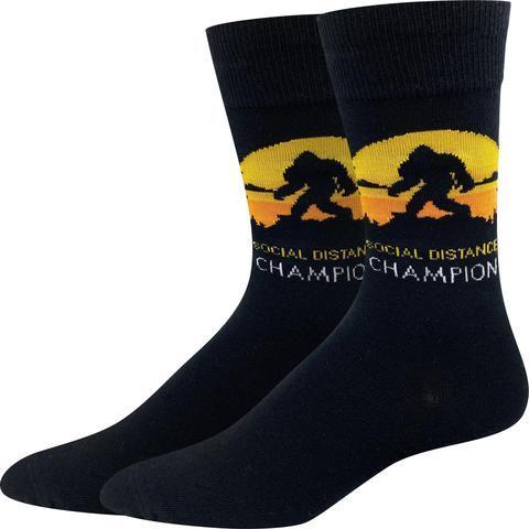 Bigfoot Sock Company Social Distance Champion Socks