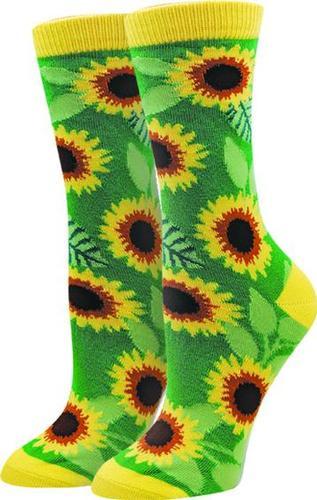 Sock Harbor Women's Sunflower Socks