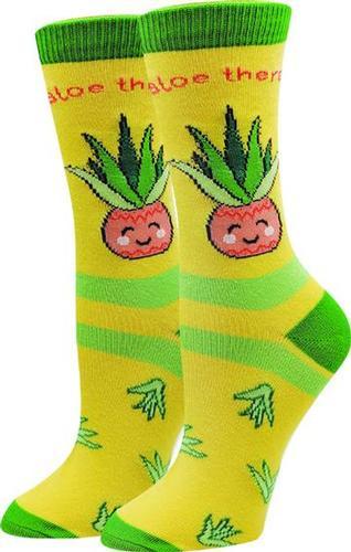 Sock Harbor Women's Aloe There Socks