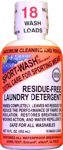 Atsko 18oz Sport Wash Residue Free Laundry Detergent