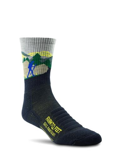 Farm to Feet Blue Ridge 3/4 Crew Sock