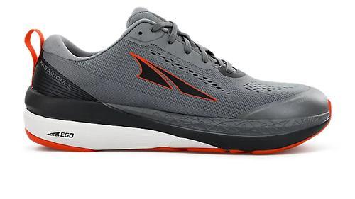 Altra Men's Paradigm 5 Running Shoe Grey Orange