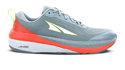 Altra Women's Paradigm 5 Running Shoe Grey and Coral