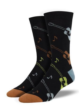 Socksmith Men's Listen to the Music Bamboo Socks