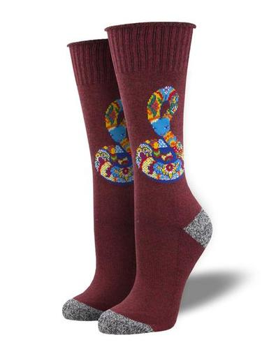 Socksmith Serpent Stare Recycled Cotton Socks