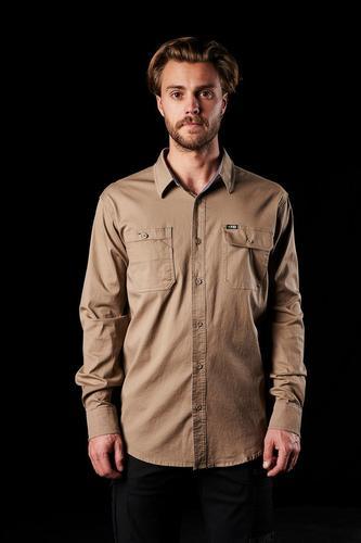 FXD Workwear Men's Stretch Long Sleeve Work Shirt