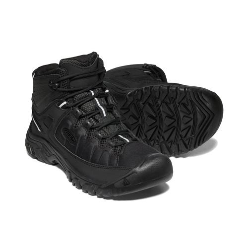 Keen Men's Targhee Exp Waterproof Mid Boot in Black