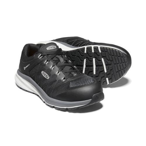 Keen Men's Vista Energy Electrical Hazard Composite Toe Shoe in Vapor and Black
