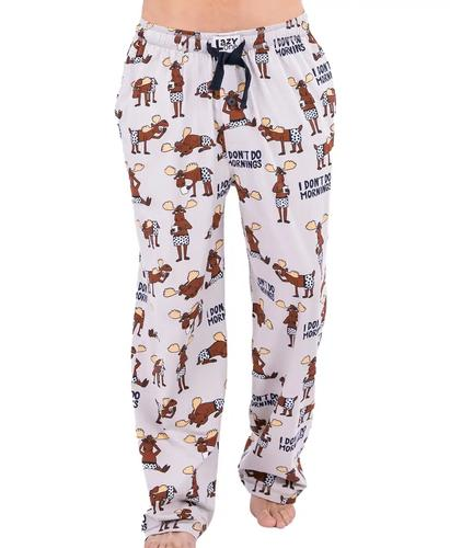 Lazy One Men's Don't Do Mornings Pajama Pants