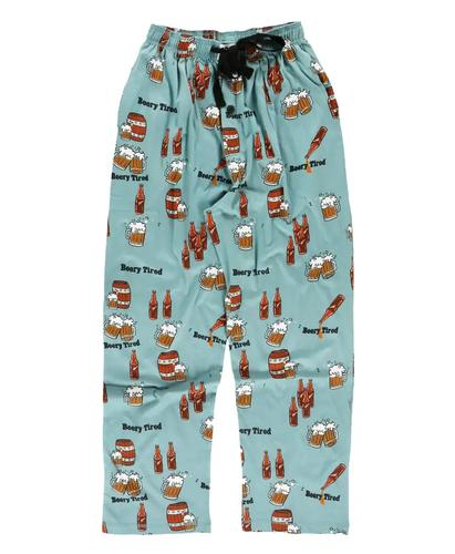 Lazy One Men's Beery Tired Pajama Pants