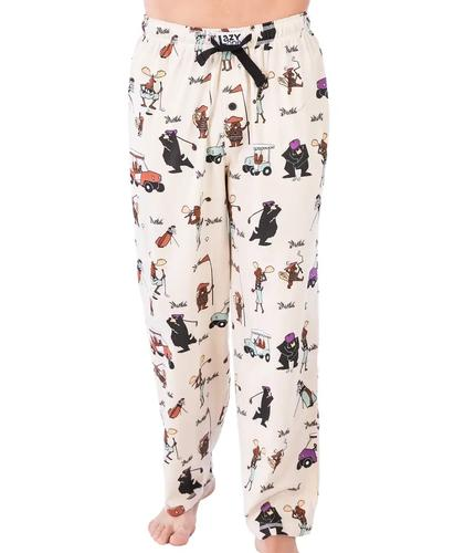 Lazy One Men's Golfer Pajama Pants