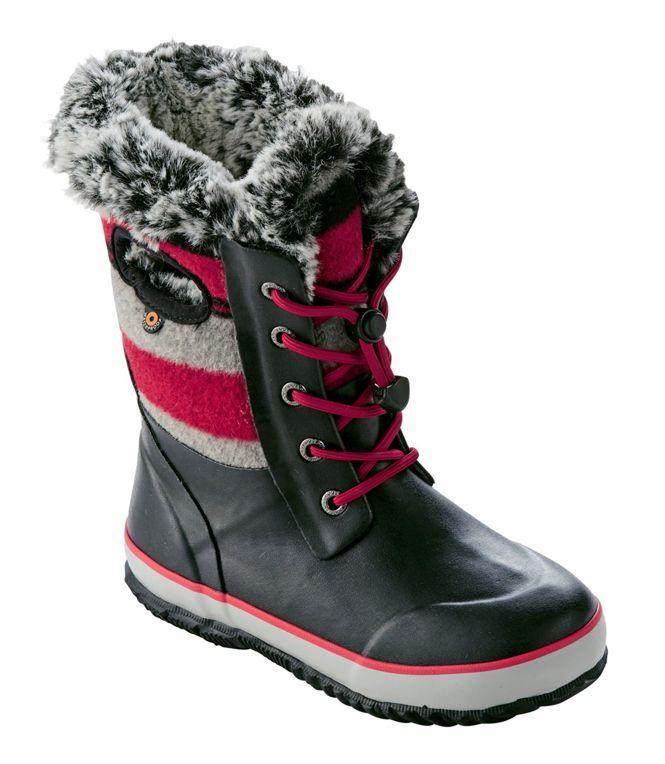 Bogs Arcata Wool Stripe Youth Boots