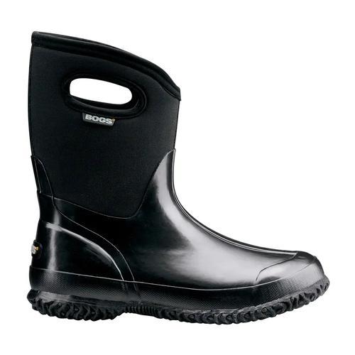 Bogs Women's Classic Mid Solid Rain Boot