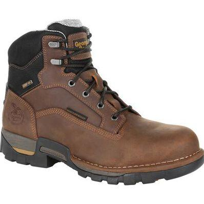 Georgia Boot Company Men's 6in Eagle One Steel Toe Waterproof EH Boot