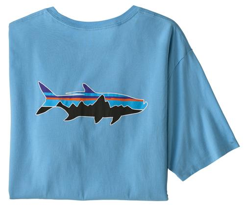 Men's Fitz Roy Fish Organic Cotton T-Shirt