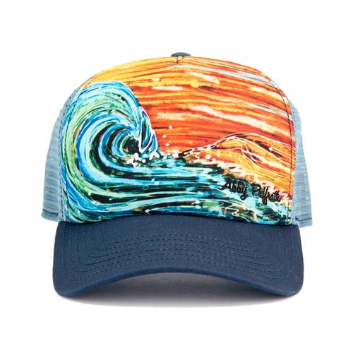 Art 4 All by Abby Paffrath Sunset Surf Trucker Cap