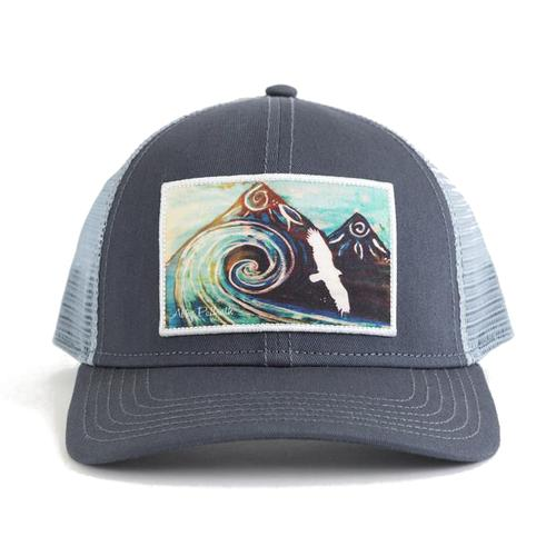 Art 4 All by Abby Paffrath Surf Break Trucker Cap