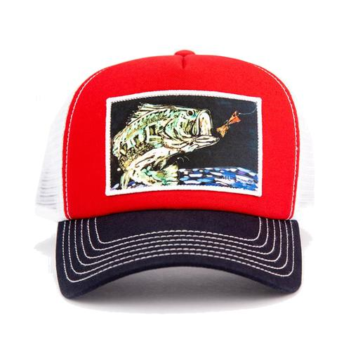 Art 4 All by Abby Paffrath Big Mouth Trucker Hat
