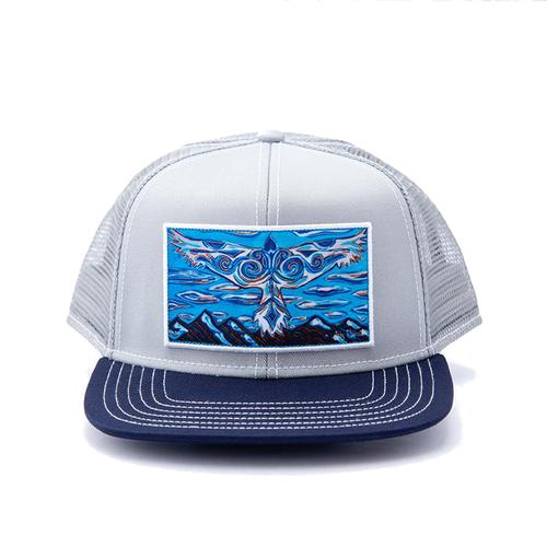 Art 4 All by Abby Paffrath A Blue Bird Wears the Sky Trucker Hat