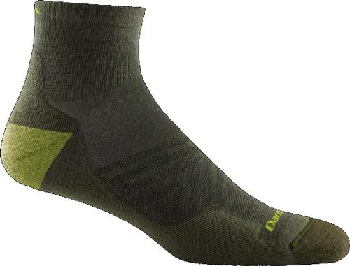 Darn Tough Men's Run Ultralight Cushion Quarter Sock