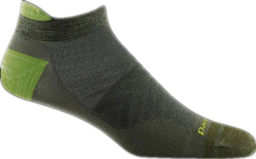 Darn Tough Men's Run Ultralight No Cushion No Show Tab Socks