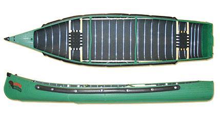 Radisson 14ft Wide Transom Canoe with Web Seats