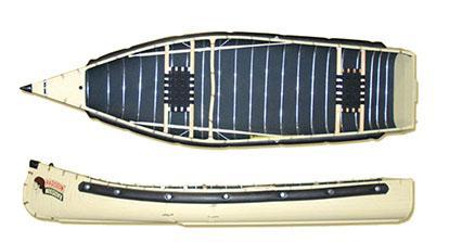 Radisson 12ft Wide Transom Canoe with Web Seats