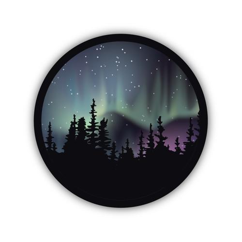 Stickers Northwest Northern Lights Sticker