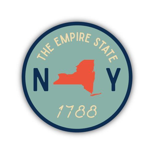 Stickers Northwest NY Circle Established 1788 Sticker