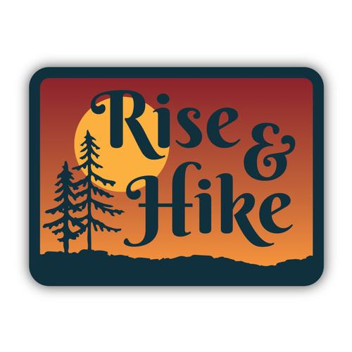 Stickers Northwest Rise and Hike Sticker