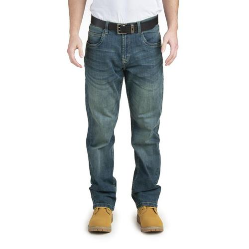 Berne Men's Flex 180 Stretch Quarry Jean