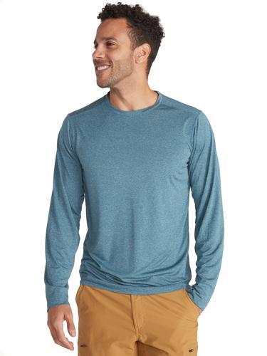 Ex Officio Men's BugsAway Tarka Crew Long Sleeve Shirt