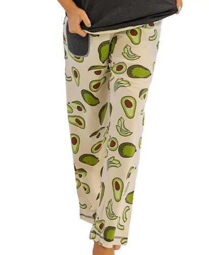 Lazy One Women's Avocado Go To Bed Pajama Pants