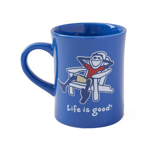 Life Is Good Adirondack Jake Vintage Diner Mug
