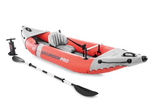 Intex Excursion Pro K1 Inflatable Kayak with Paddle and Pump
