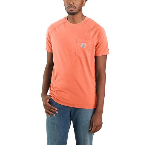 Carhartt Men's Force Cotton Delmont Tee Spring 2021 Colors