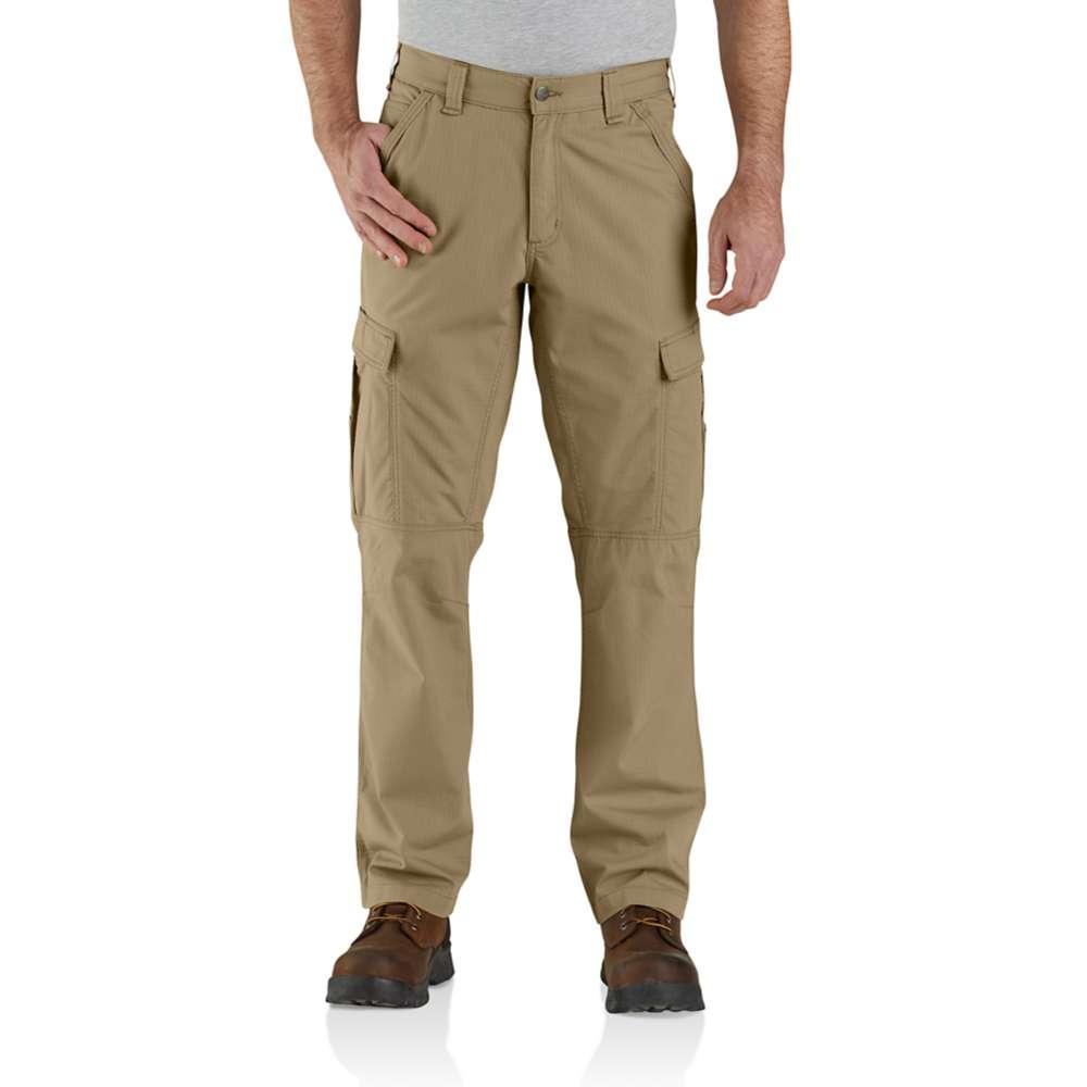 Carhartt Men's Force Relaxed Fit Ripstop Cargo Pant DARK_KHAKI