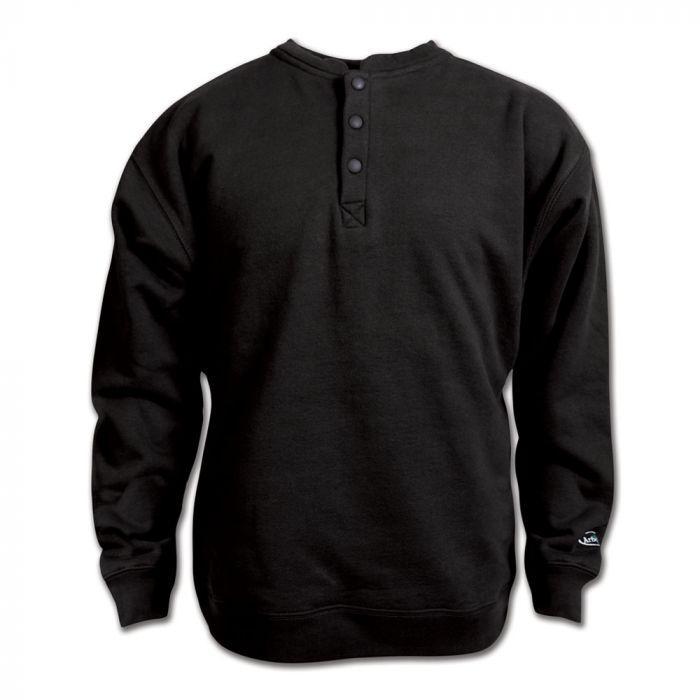 Arborwear Men's Double Thick Crew Sweatshirt BLACK