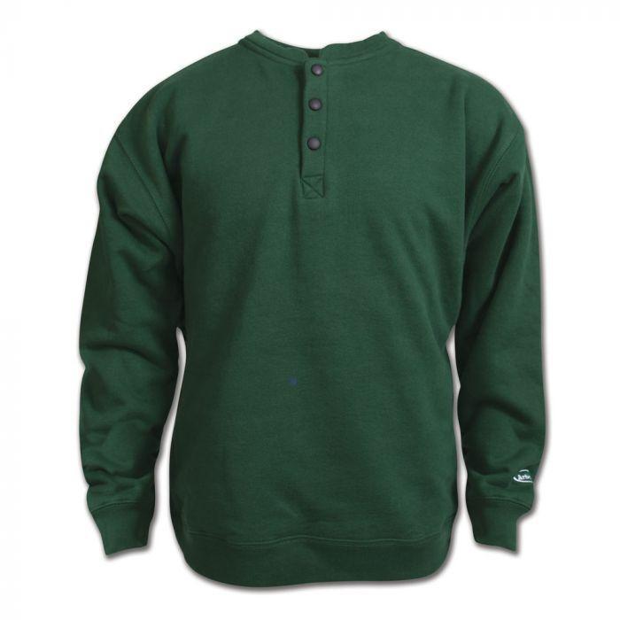 Arborwear Men's Double Thick Crew Sweatshirt FOREST_GREEN