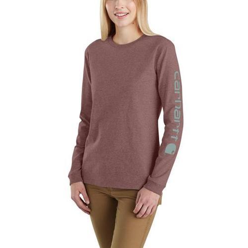 Carhartt Women's Workwear Logo Long-Sleeve Shirt