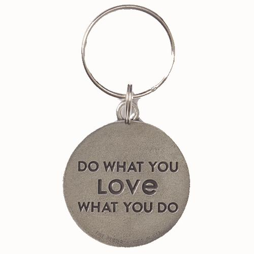 Life Is Good Coin Keeper Keyring