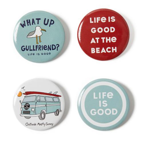 Life Is Good Gullfriend Positive Pins