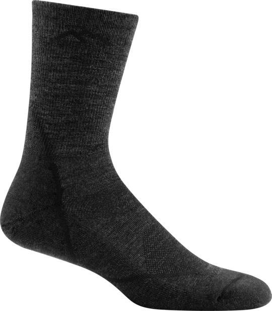 Darn Tough Men's Light Hiker Micro Crew Lightweight Hiking Sock BLACK