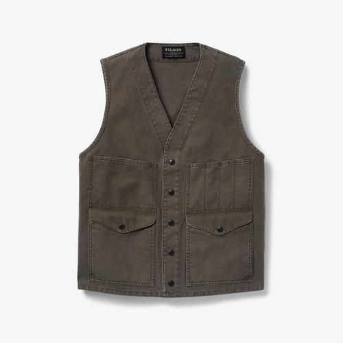 Filson Men's Dry Tin Cloth Cruiser Vest