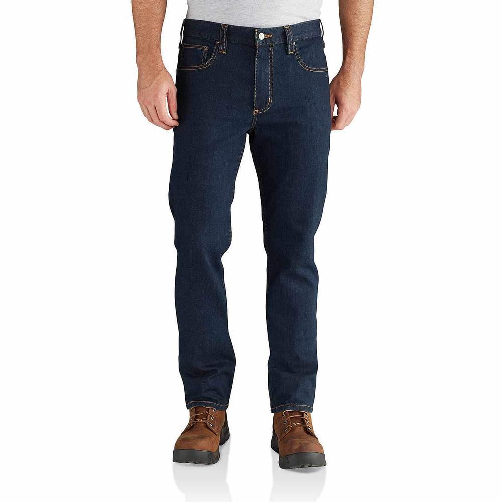 Carhartt Men's Rugged Flex Straight Fit Tapered Leg Jean
