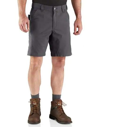 Carhartt Men's Force Relaxed Fit Ripstop Short SHADOW